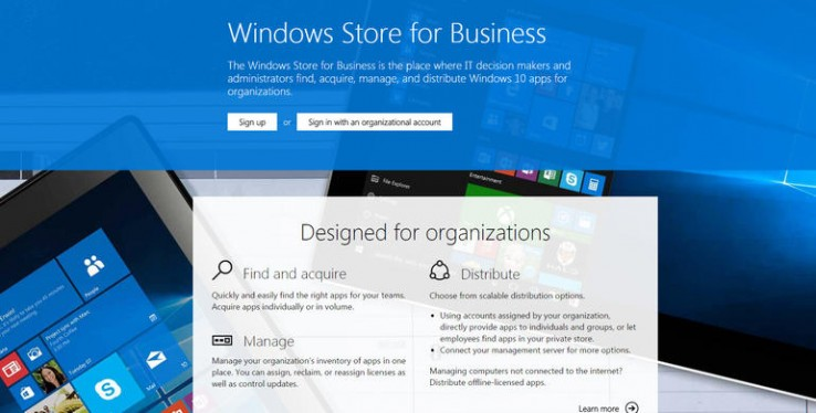 Microsoft readying Windows 10 Store for Business | MCT