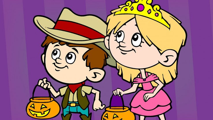 one for you one for me halloween song super simple songs
