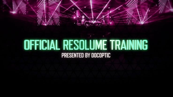 Official Resolume Avenue & Arena Video Training   MCT