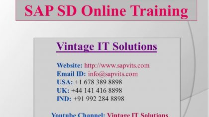 Sap sd tutorials pdf